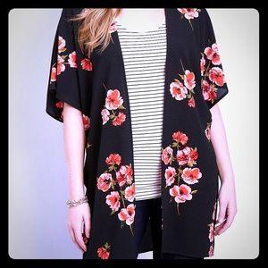 Maurices Plus Size Kimono